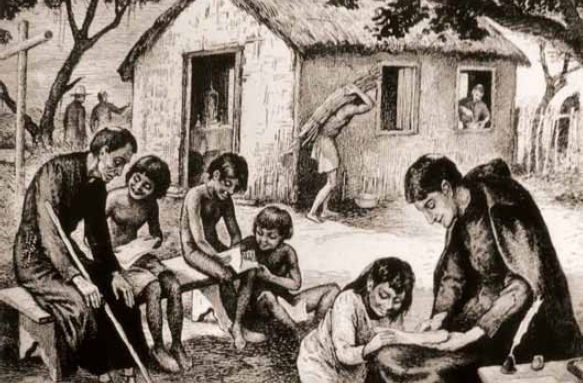 Resultado de imagem para grandes misisonários dominicanos jesuítas franciscanos
