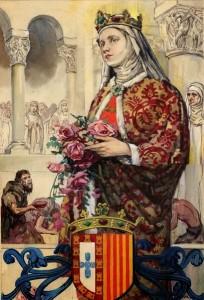 Santa Isabel de Portugal, Rainha e Terciária Franciscana (3)
